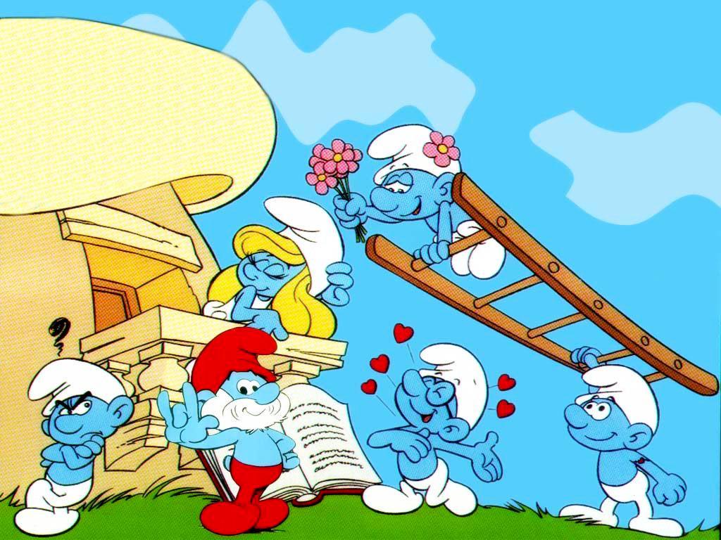 Cartoons Wallpaper: Smurfs