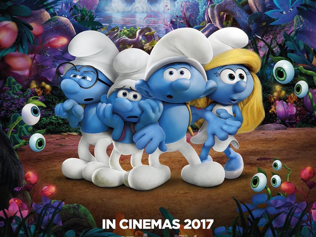 Cartoons Wallpaper: Smurfs - The Lost Village