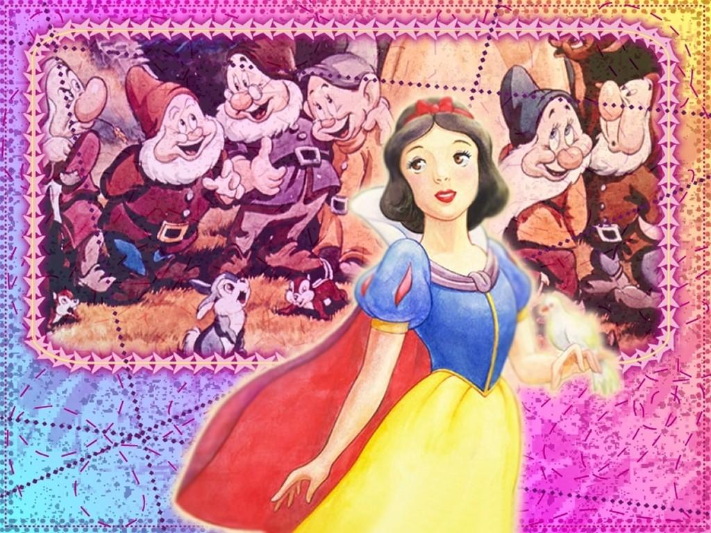 Cartoons Wallpaper: Snow White