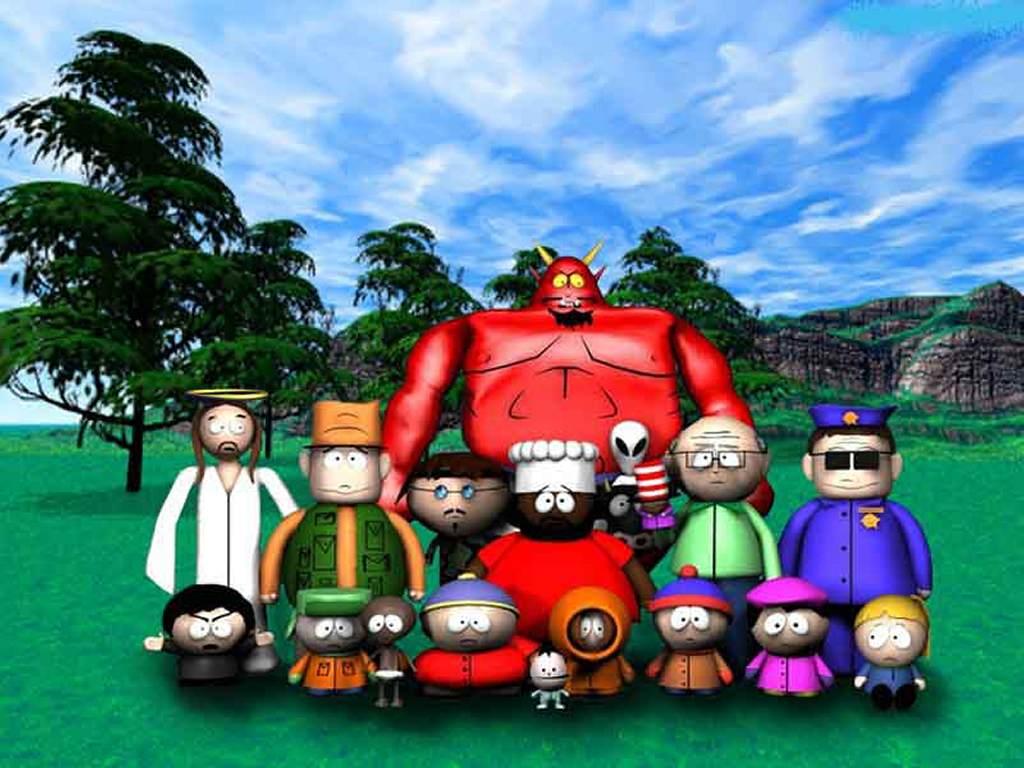 Cartoons Wallpaper: South Park Gang