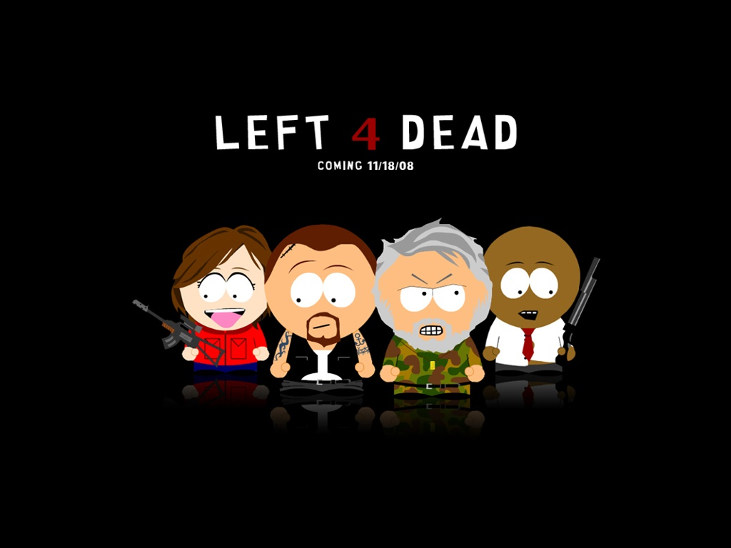 Cartoons Wallpaper: South Park - Left 4 Dead