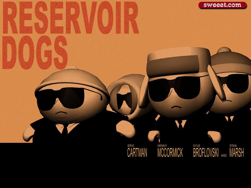 Cartoons Wallpaper: South Park - Reservoir Dogs