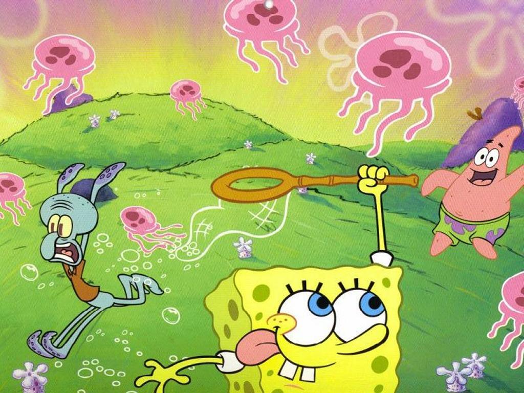 Cartoons Wallpaper: Spongebob and Friends