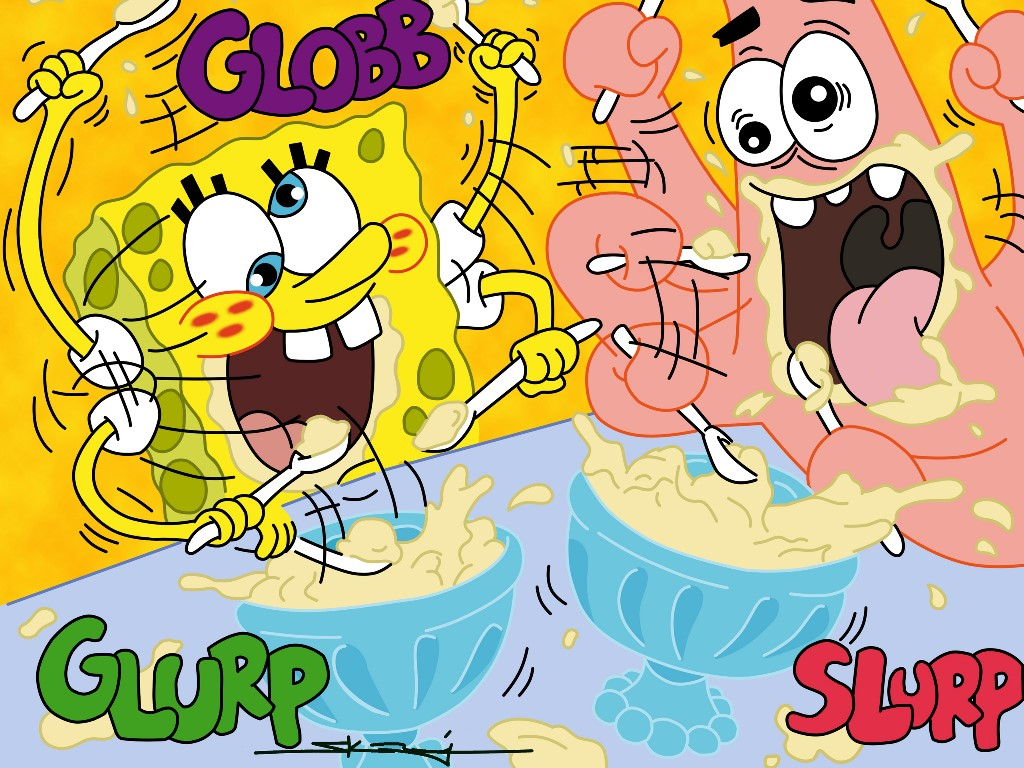 Cartoons Wallpaper: Spongebob and Patrick