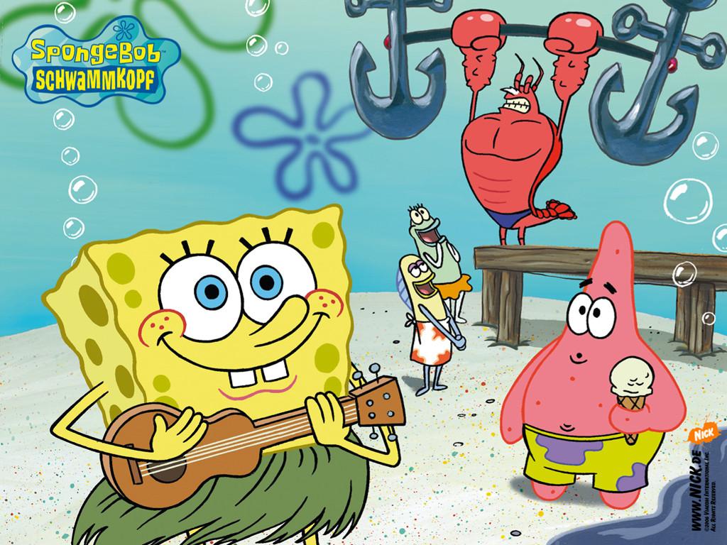 Cartoons Wallpaper: Spongebob