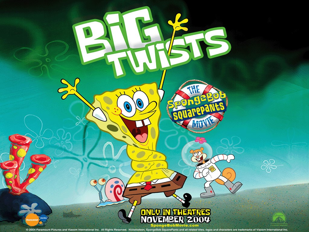 Cartoons Wallpaper: The Spongebob Squarepants Movie
