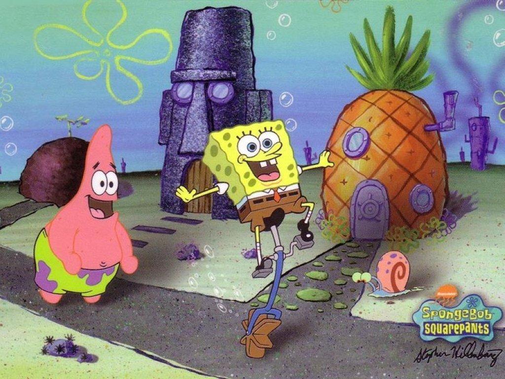 Cartoons Wallpaper: Spongebob Squarepants