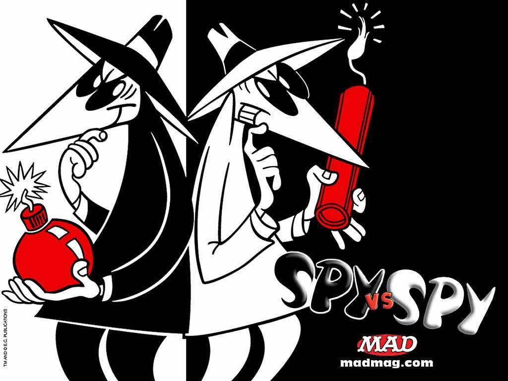 Cartoons Wallpaper: Spy vs. Spy