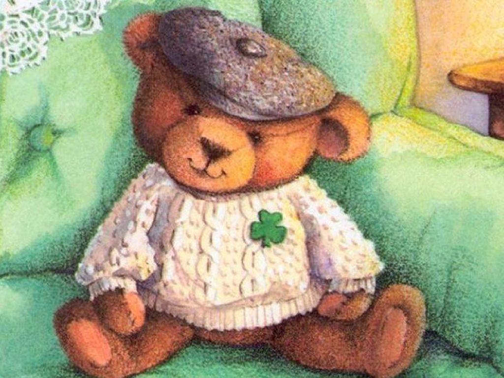Cartoons Wallpaper: St. Patrick Bear
