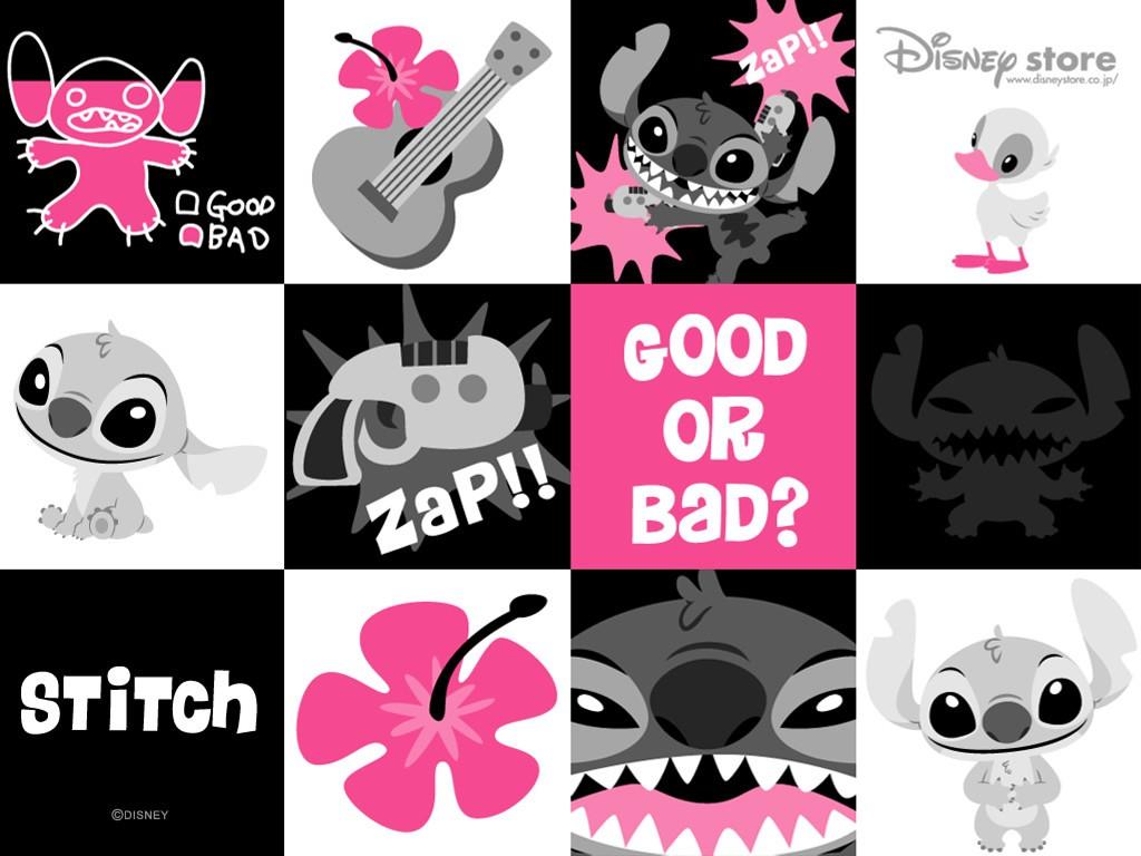 Cartoons Wallpaper: Stitch