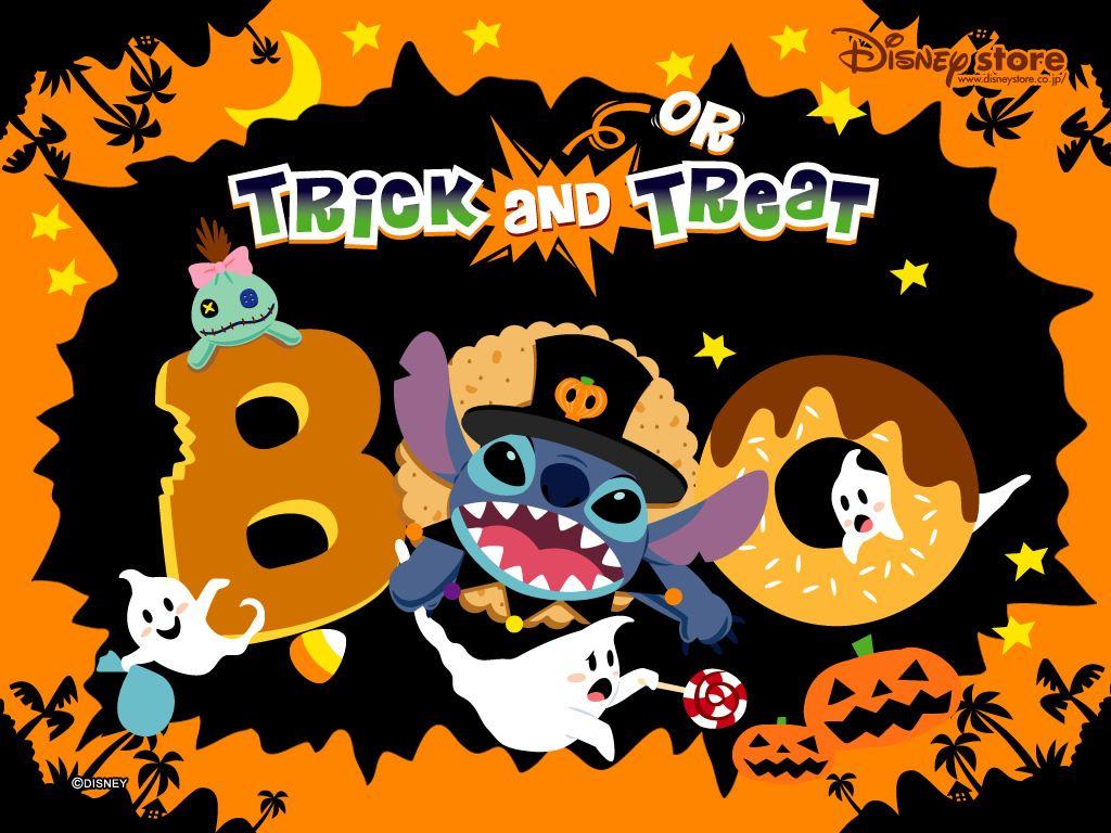 Cartoons Wallpaper: Stitch - Halloween