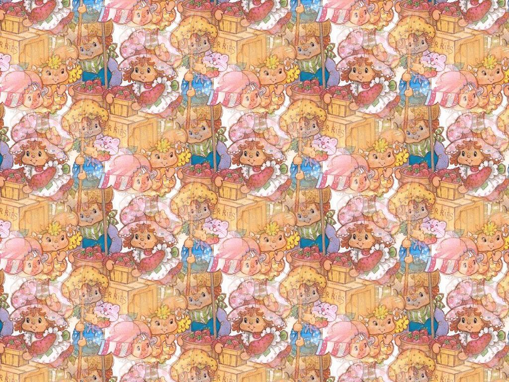 Cartoons Wallpaper: Strawberry Shortcake