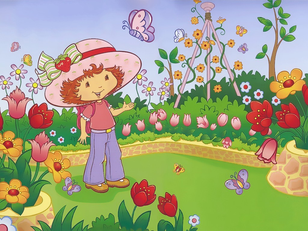Cartoons Wallpaper: Strawberry Shortcake
