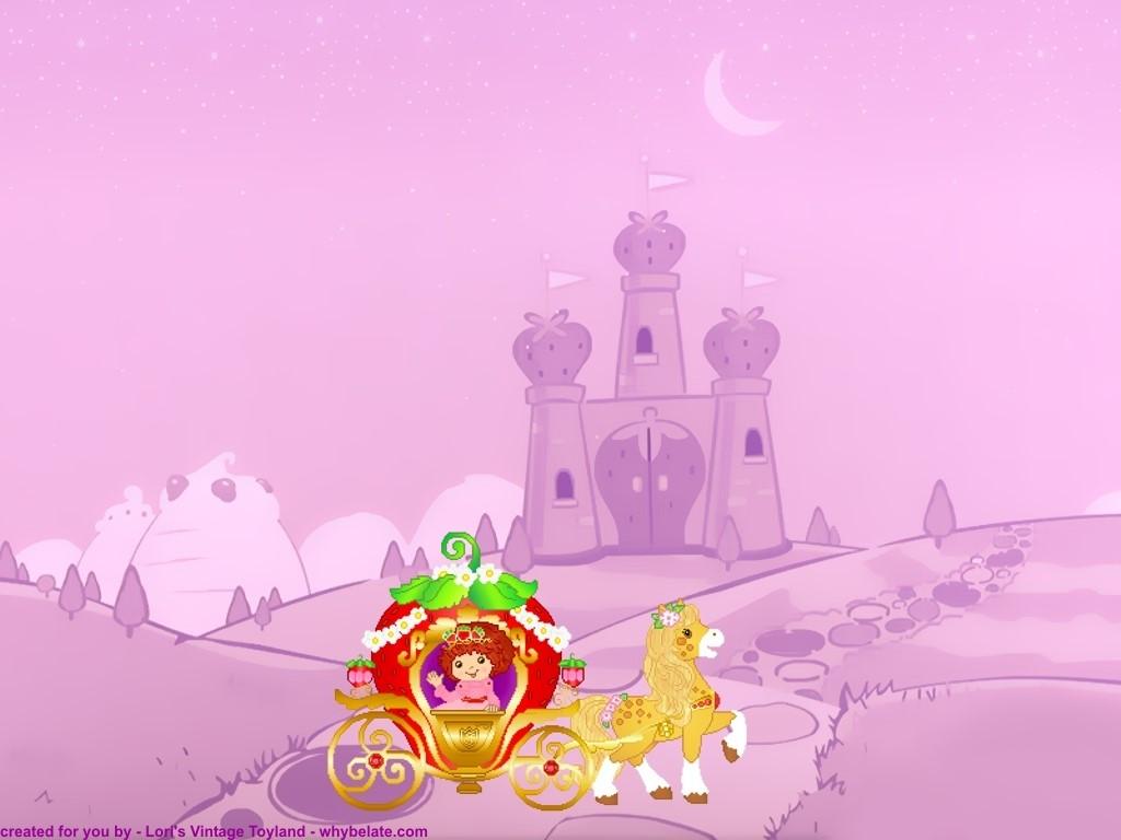 Cartoons Wallpaper: Strawberry Shortcake - Princess