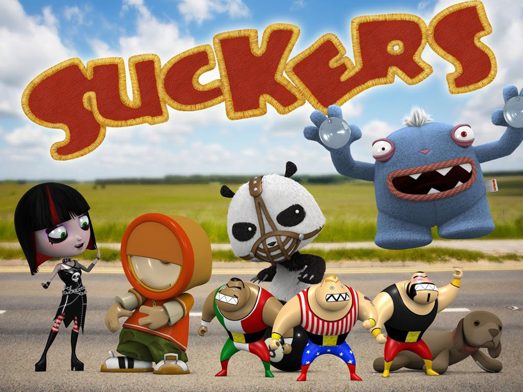 Cartoons Wallpaper: Suckers