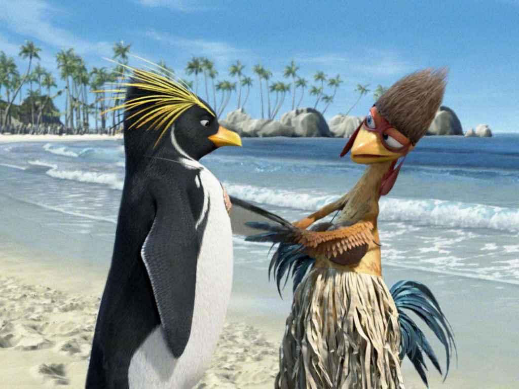 Cartoons Wallpaper: Surf's Up