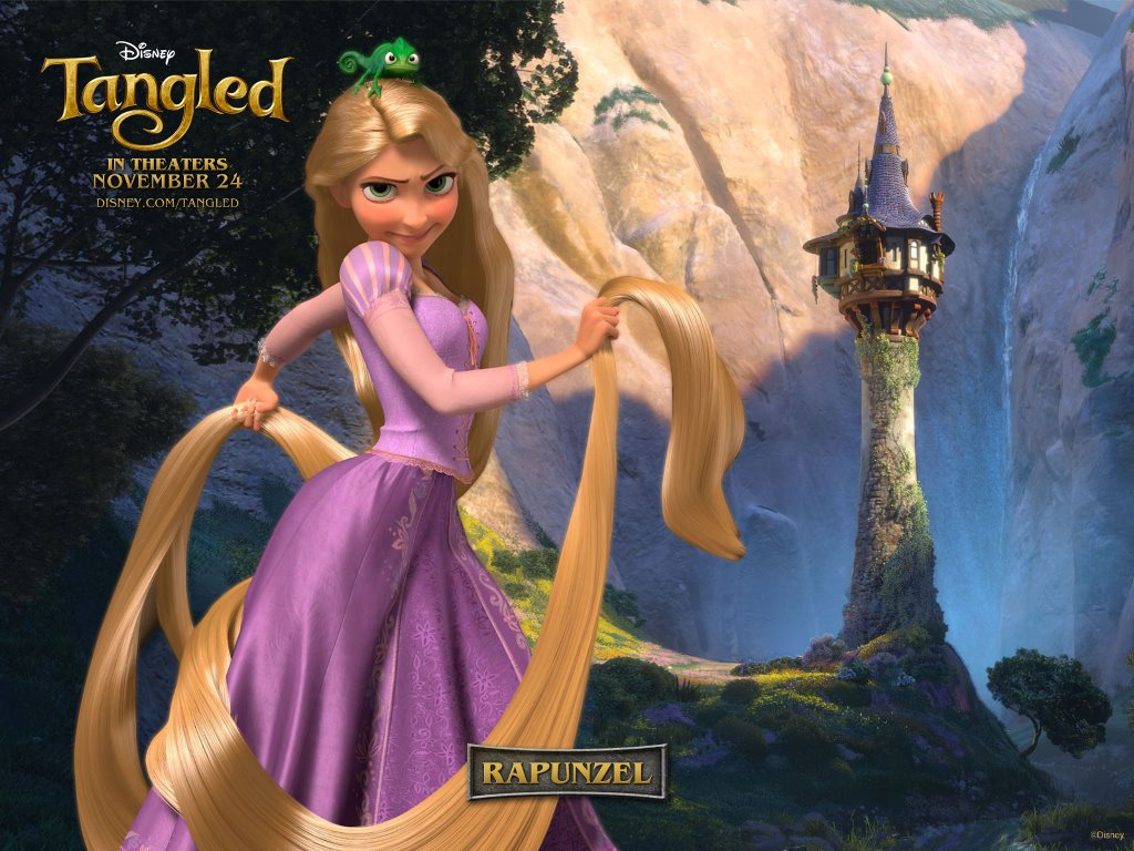 Cartoons Wallpaper: Tangled