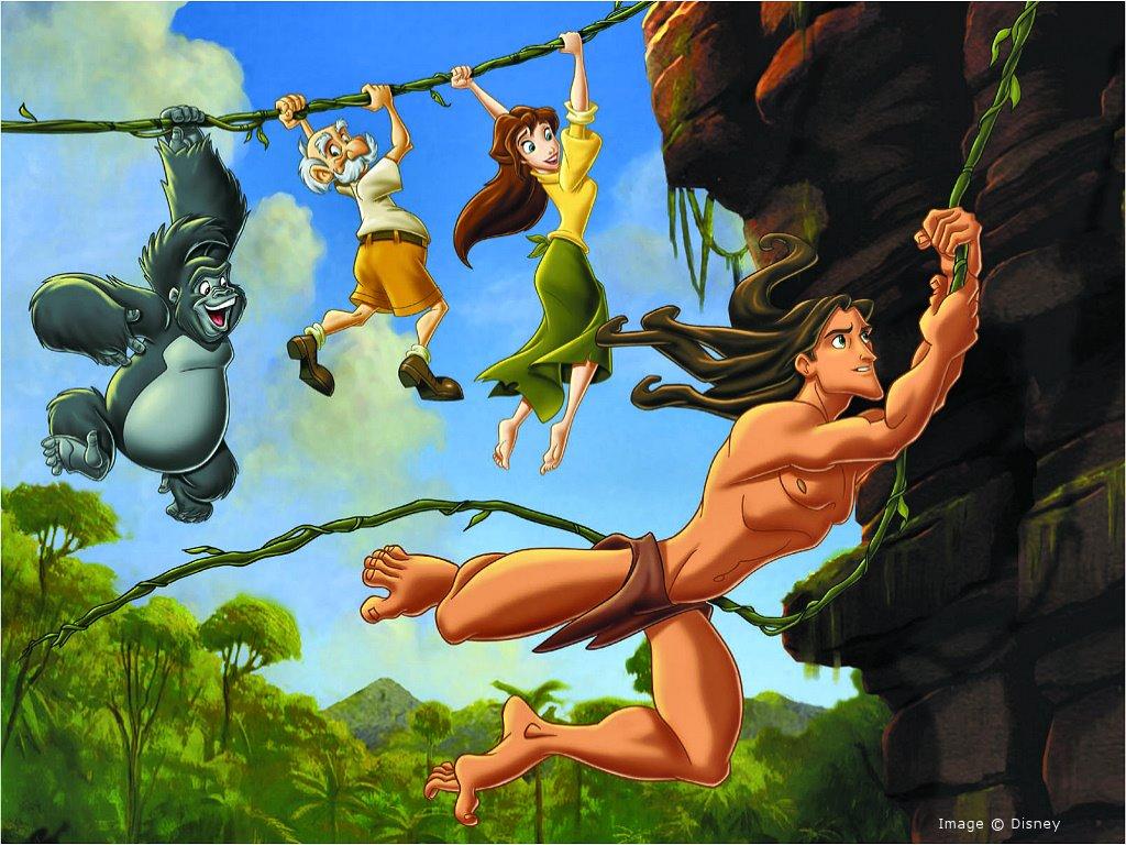 Cartoons Wallpaper: Tarzan