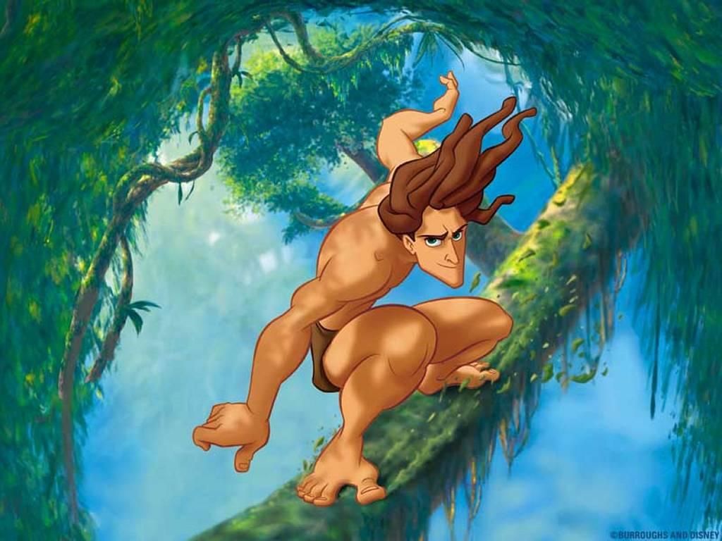 Cartoons Wallpaper: Tarzan is Coming