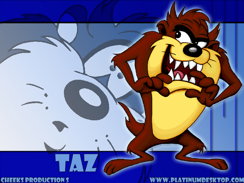 Cartoons Wallpaper: Taz