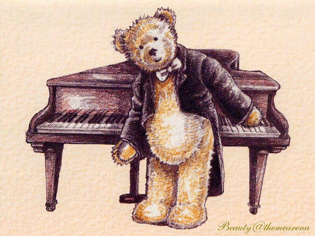 Cartoons Wallpaper: Teddy Bear