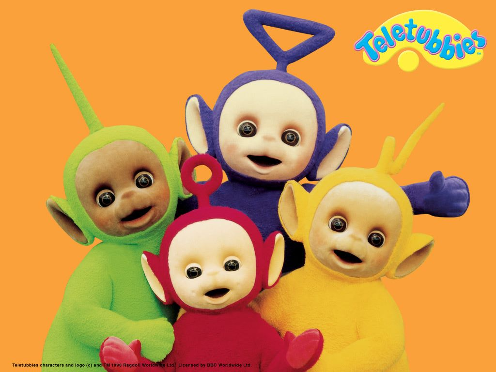 Cartoons Wallpaper: Teletubbies