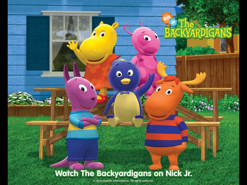 Cartoons Wallpaper: The Backyardigans
