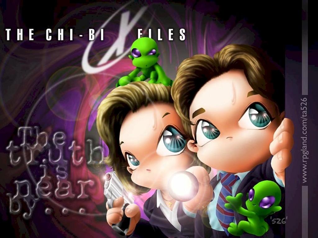 Cartoons Wallpaper: The Chi-Bi Files