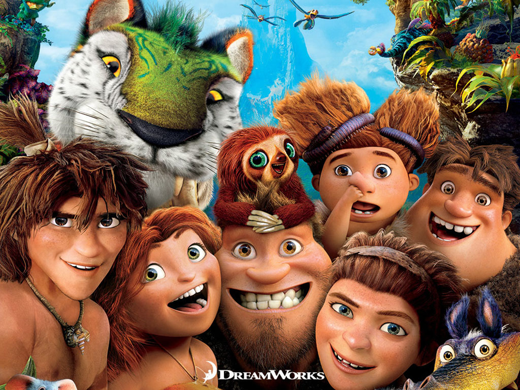 Cartoons Wallpaper: The Croods