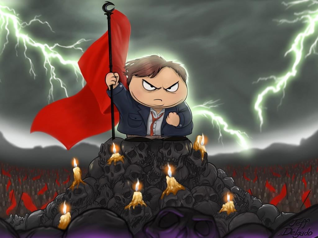 Cartoons Wallpaper: South Park - The Cult of Cartman
