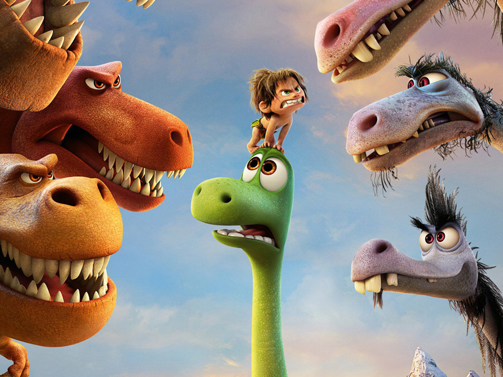 Cartoons Wallpaper: The Good Dinosaur