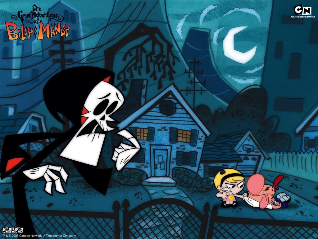Cartoons Wallpaper: Grim Adventures of Billy and Mandy