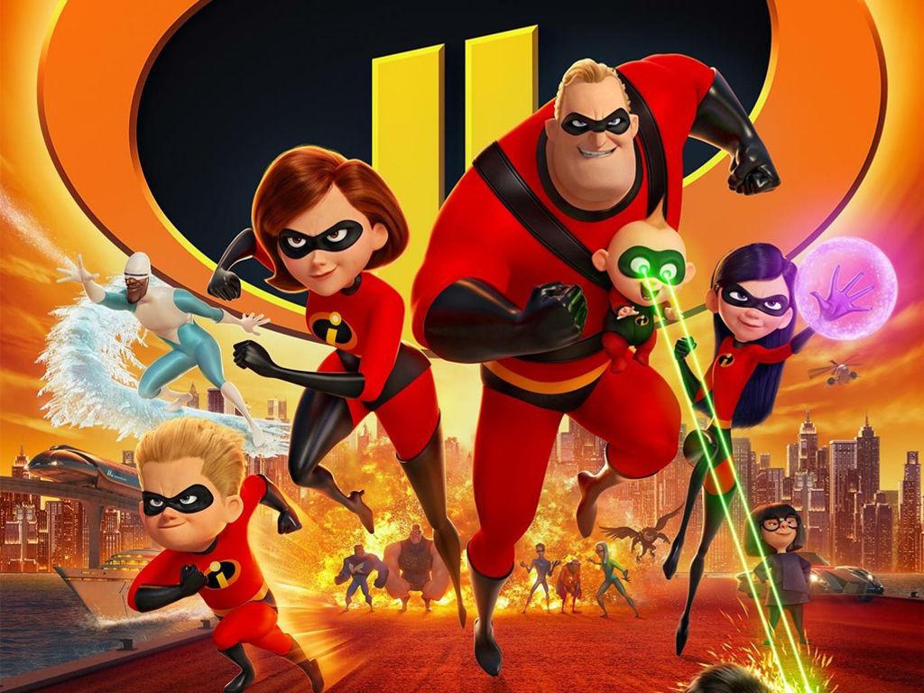 Cartoons Wallpaper: The Incredibles 2