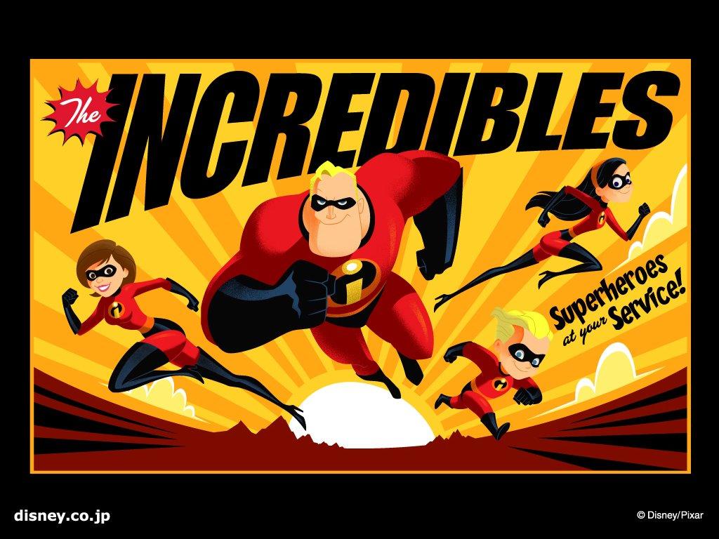 Cartoons Wallpaper: The Incredibles