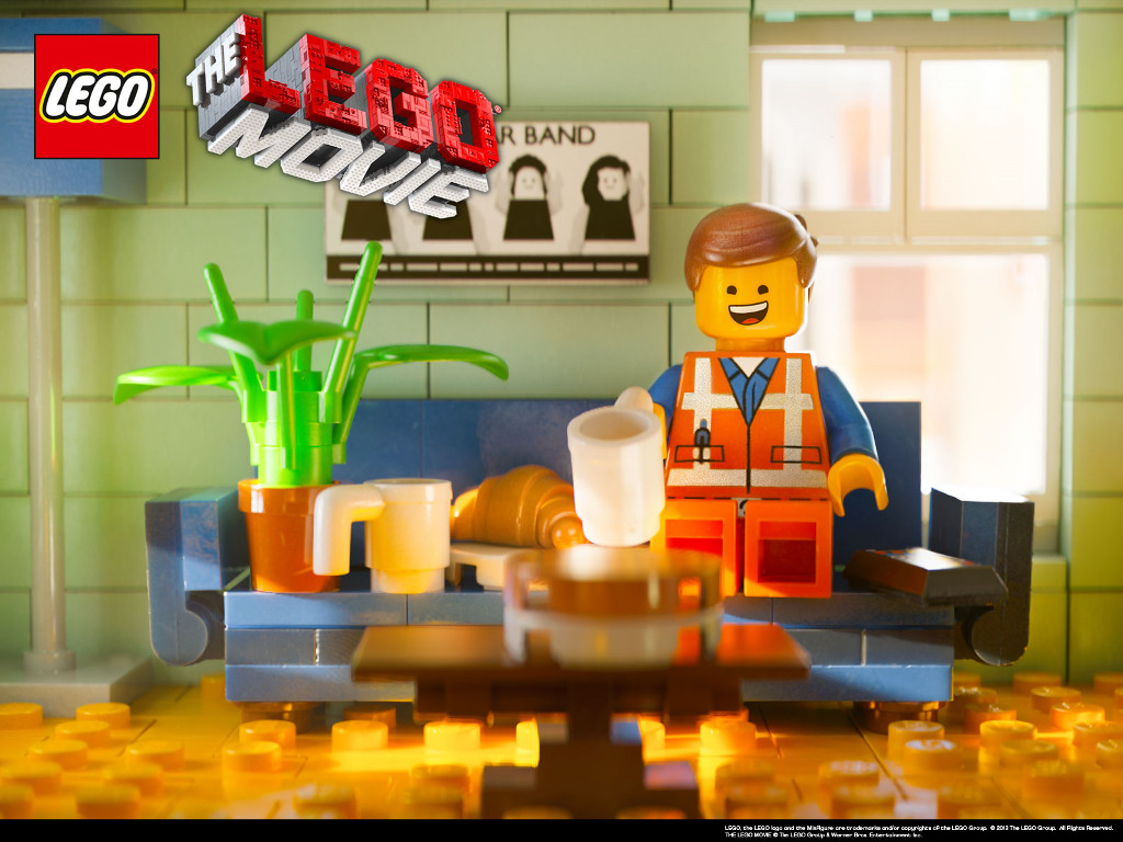 Cartoons Wallpaper: The LEGO Movie