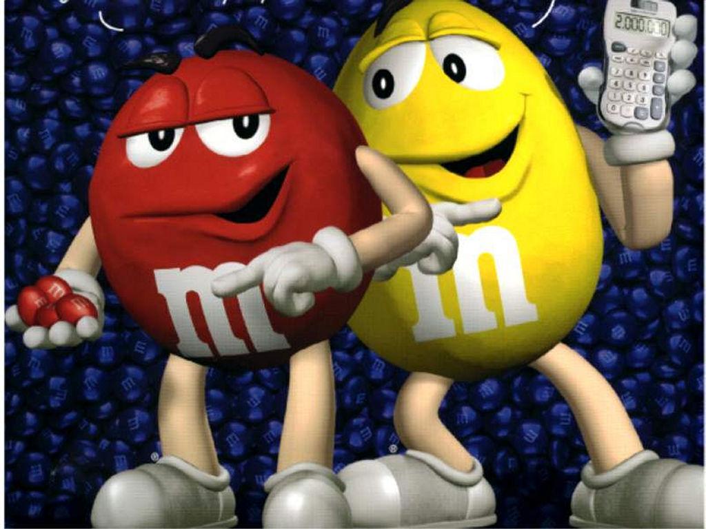 Cartoons Wallpaper: The Little M&M Guys