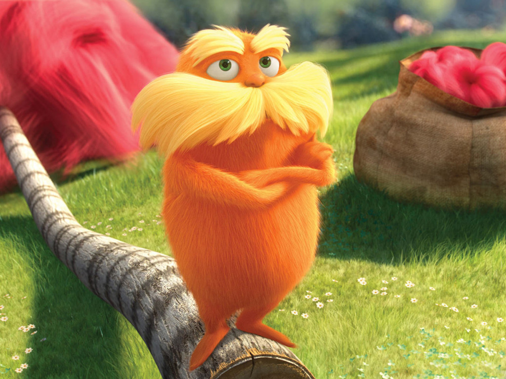 Cartoons Wallpaper: The Lorax