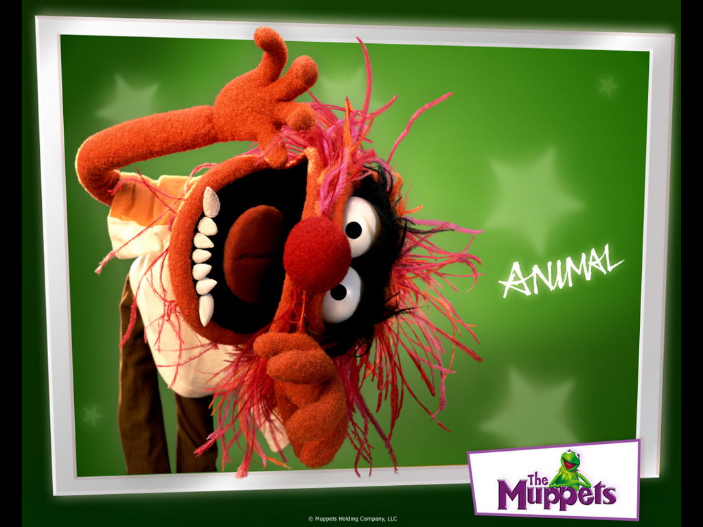 Cartoons Wallpaper: The Muppets - Animal