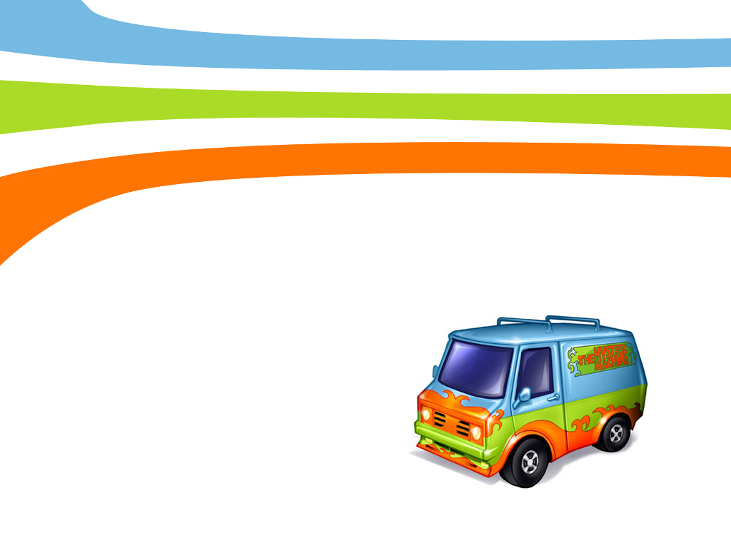Cartoons Wallpaper: The Mystery Machine