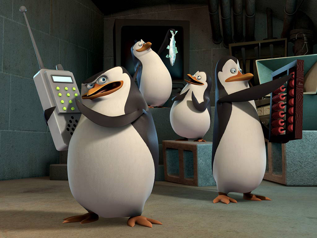 Cartoons Wallpaper: The Penguins of Madagascar