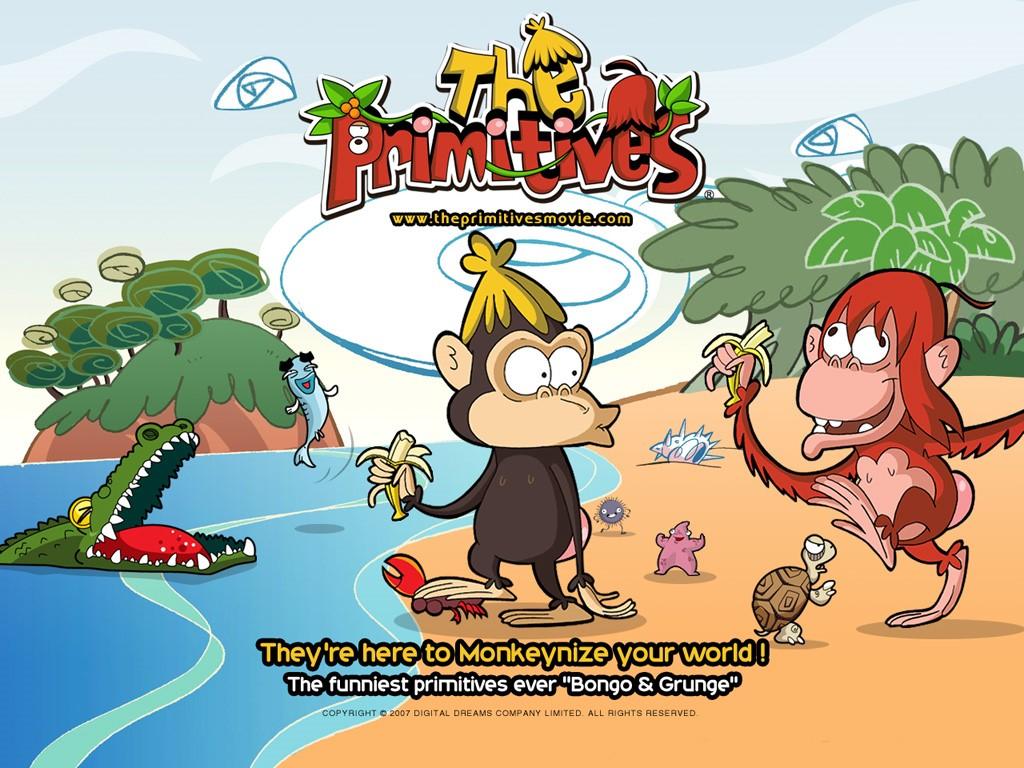 Cartoons Wallpaper: The Primitives
