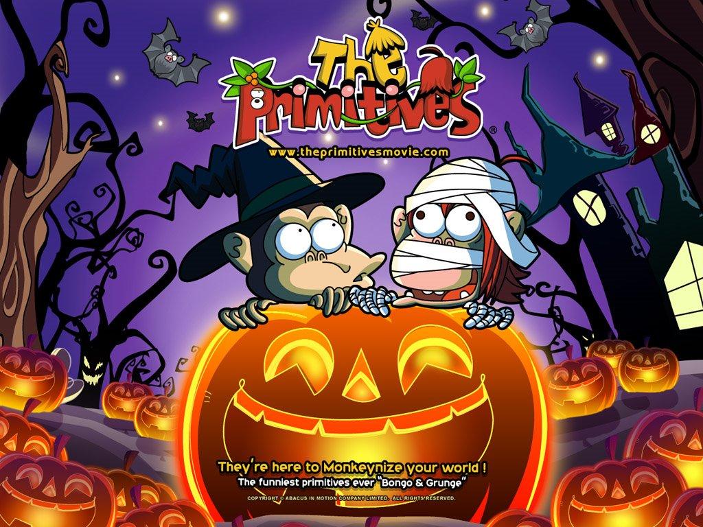 Cartoons Wallpaper: The Primitives - Halloween