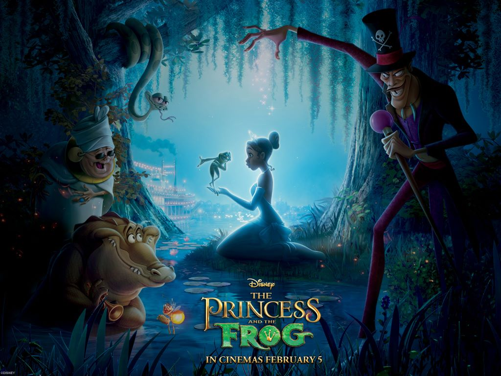 Cartoons Wallpaper: The Princess and the Frog