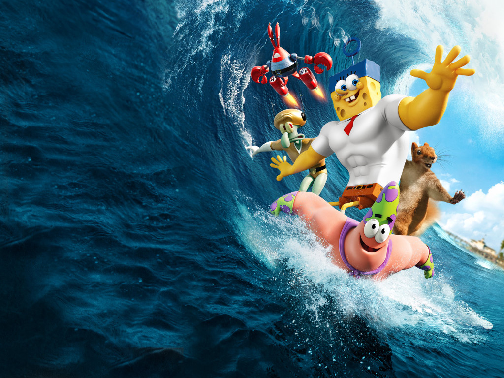 Cartoons Wallpaper: The Spongebob Movie - Sponge Out of Water