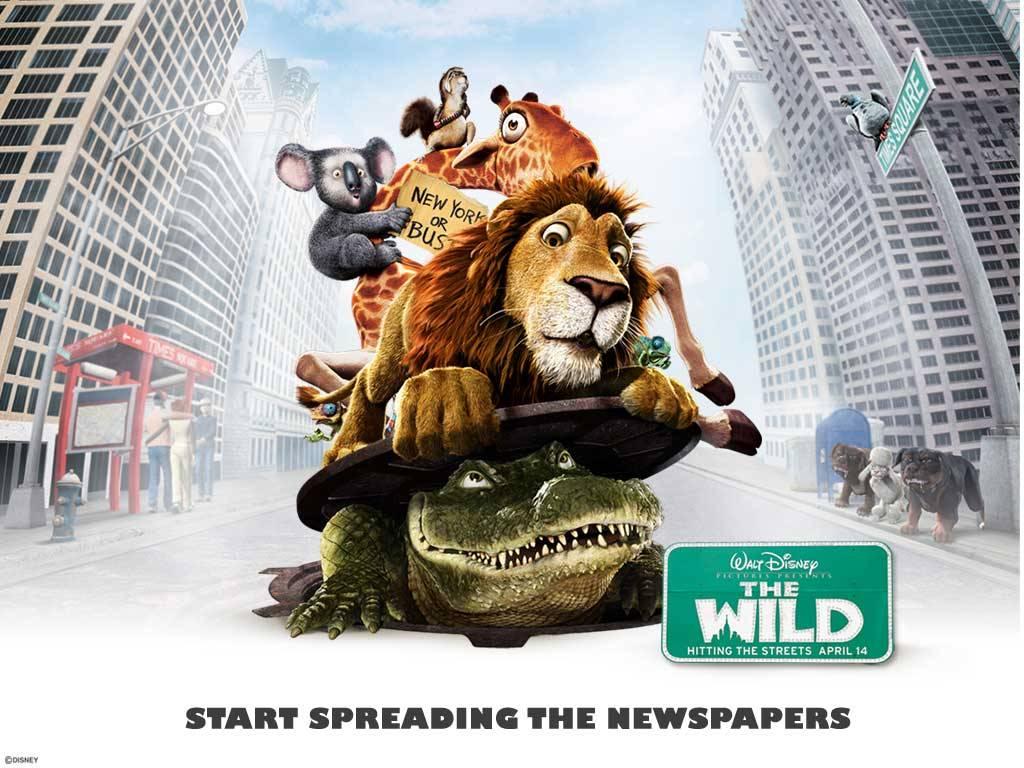 Cartoons Wallpaper: The Wild