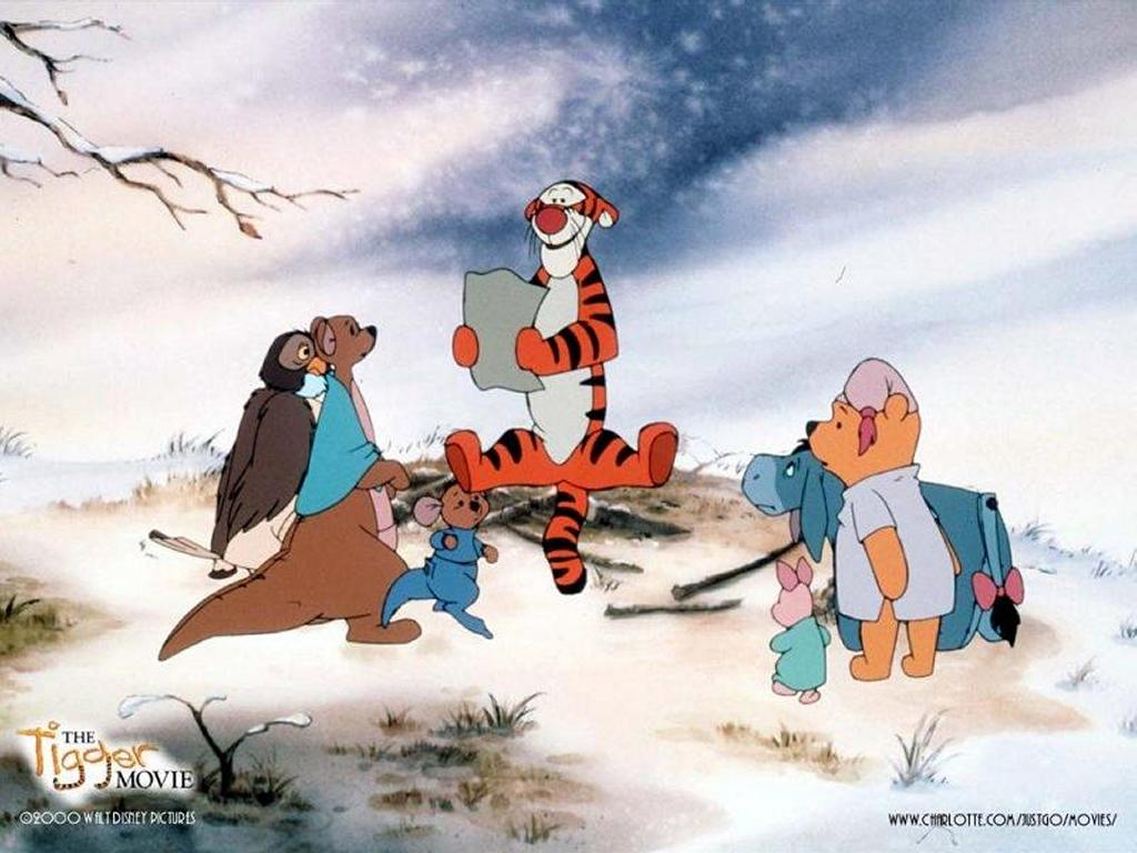 Cartoons Wallpaper: Tiger and Friends