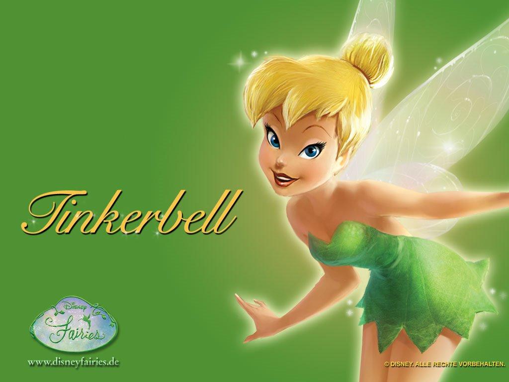 Cartoons Wallpaper: Tinkerbell