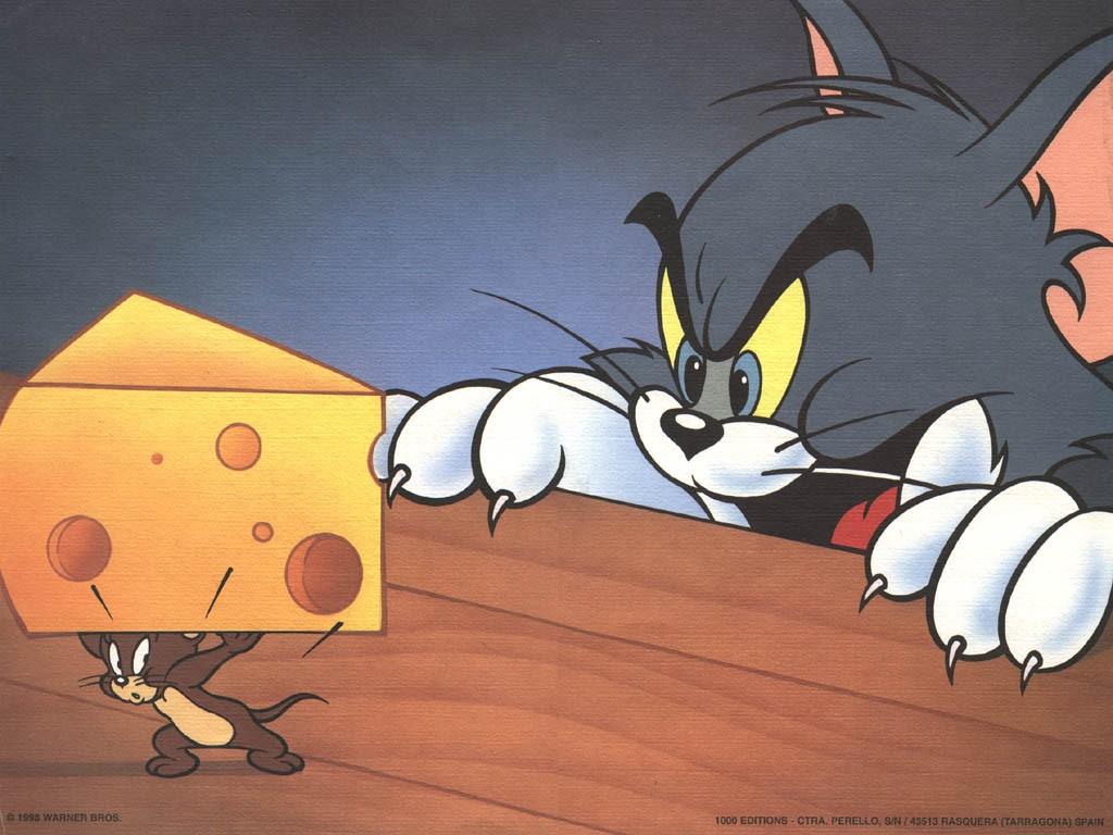 Cartoons Wallpaper: Tom And Jerry
