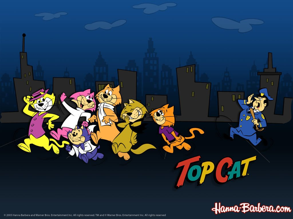 Cartoons Wallpaper: Top Cat
