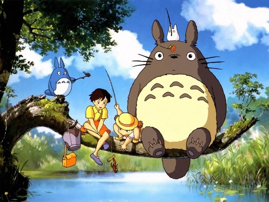 Cartoons Wallpaper: My Neighbor Totoro